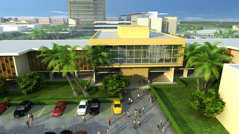 thương mại trí thức College Town Bình Dương